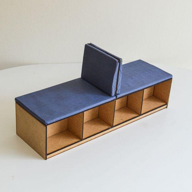 Grupal Cubic A Fenólico / Módulo descanso social A