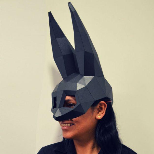 Máscara Coneja Negra