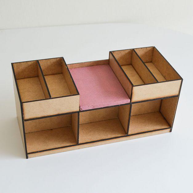 Grupal Cubic B Fenólico / Módulo descanso social B