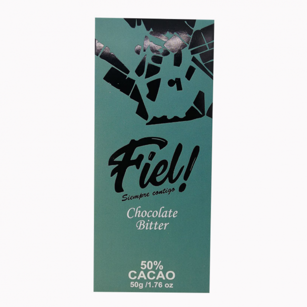 Chocolate Bitter 50% Fiel! 50g