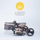 Coche Little Bru Madrid 2019 Marrón/Beige