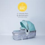Coche Little Bru Madrid 2018 Gris/Turquesa