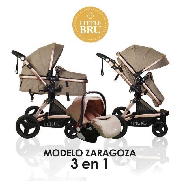 Coche Modelo Zaragoza 3 en 1