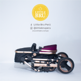 Coche Little Bru Madrid 2019 Morado
