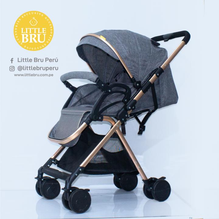 Coche para bebé  Little Bru Mod. Mallorca Gris