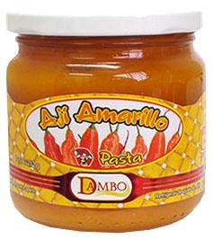 Pasta de Aji Amarillo 212g