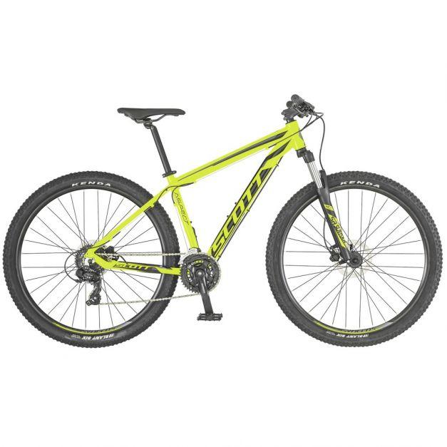 Bicicleta Scott Aspect 960 amarillo gris