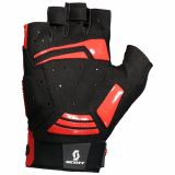 Guantes Scott Performance Gel Talla S Negro/ Rojo