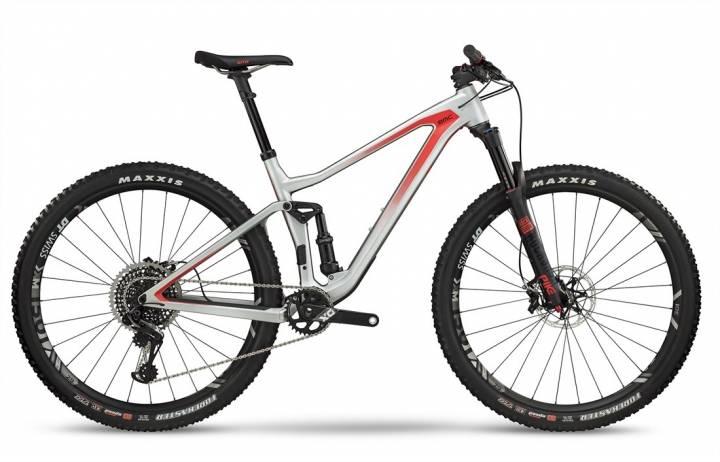 Bicicleta BMC Montaña SpeedFox 01 One Talla S Plomo/ Negro/ Rojo