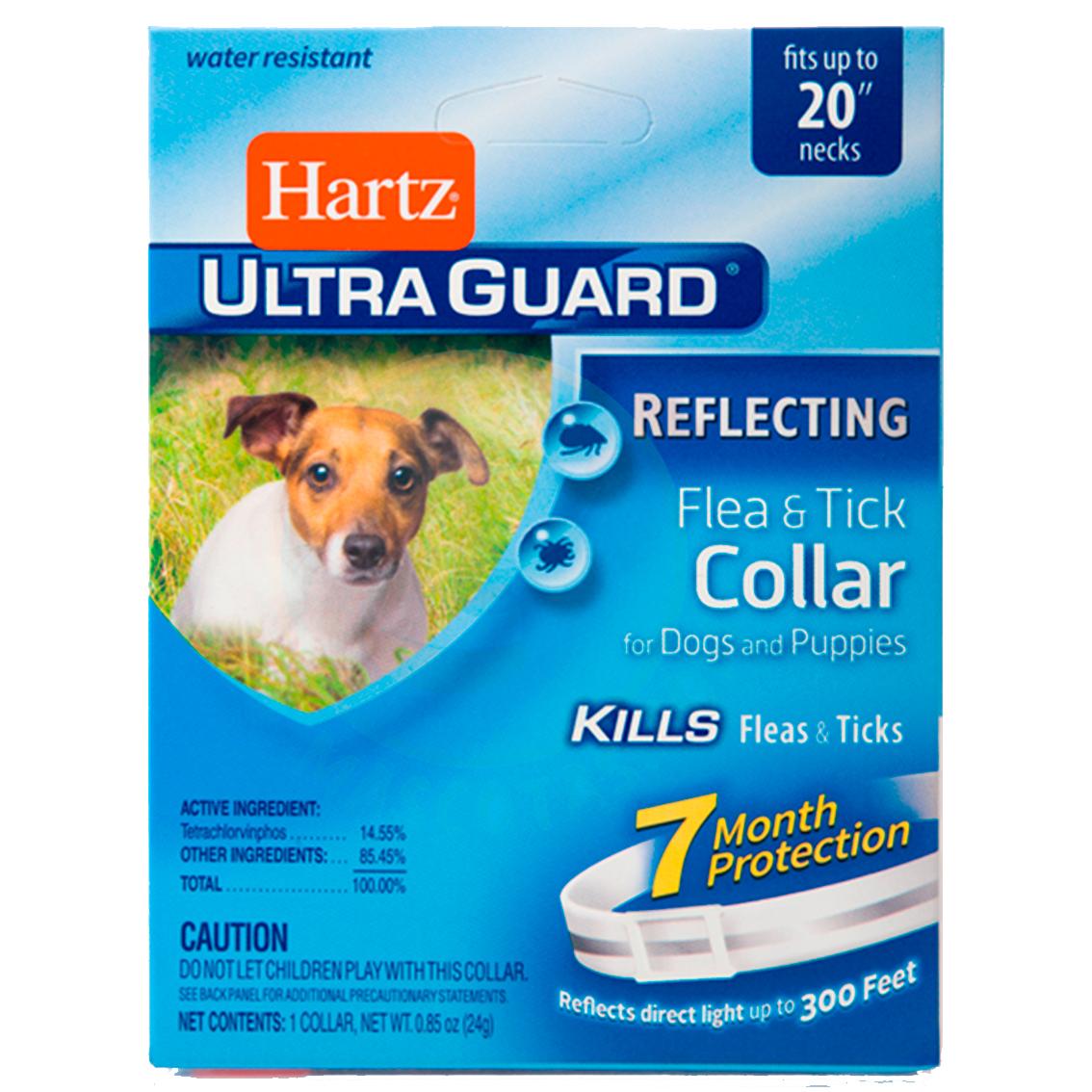 5ccca228841a HARTZ ULTRAGUARD COLLAR REFLECTIVE FOR DOG