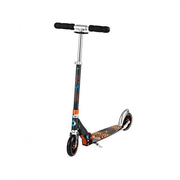 MICRO SCOOTER SPEED+ PATTERN BLACK