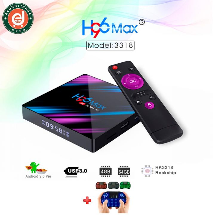 TV box H96 MAX 4GB/64GB Android 9.0