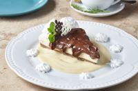 Cheesecake de Nutella (molde 10 porciones)