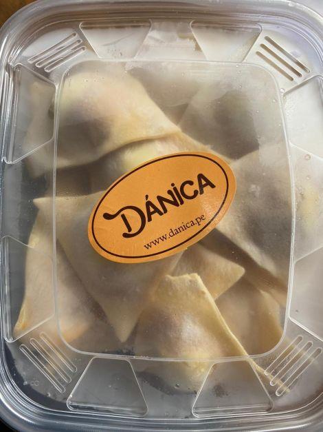 Ravioles de Camote y Queso Crema  (500 gr)