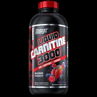 Liquid Carnitine 3000 480 ml Berry Blast - Nutrex