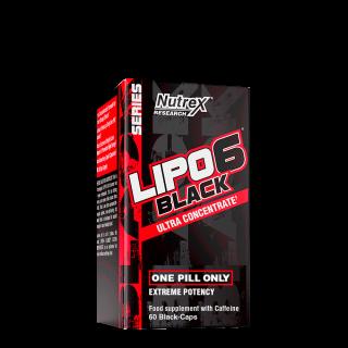 LIPO-6 Black Ultra Concentrate 60 BlackCaps