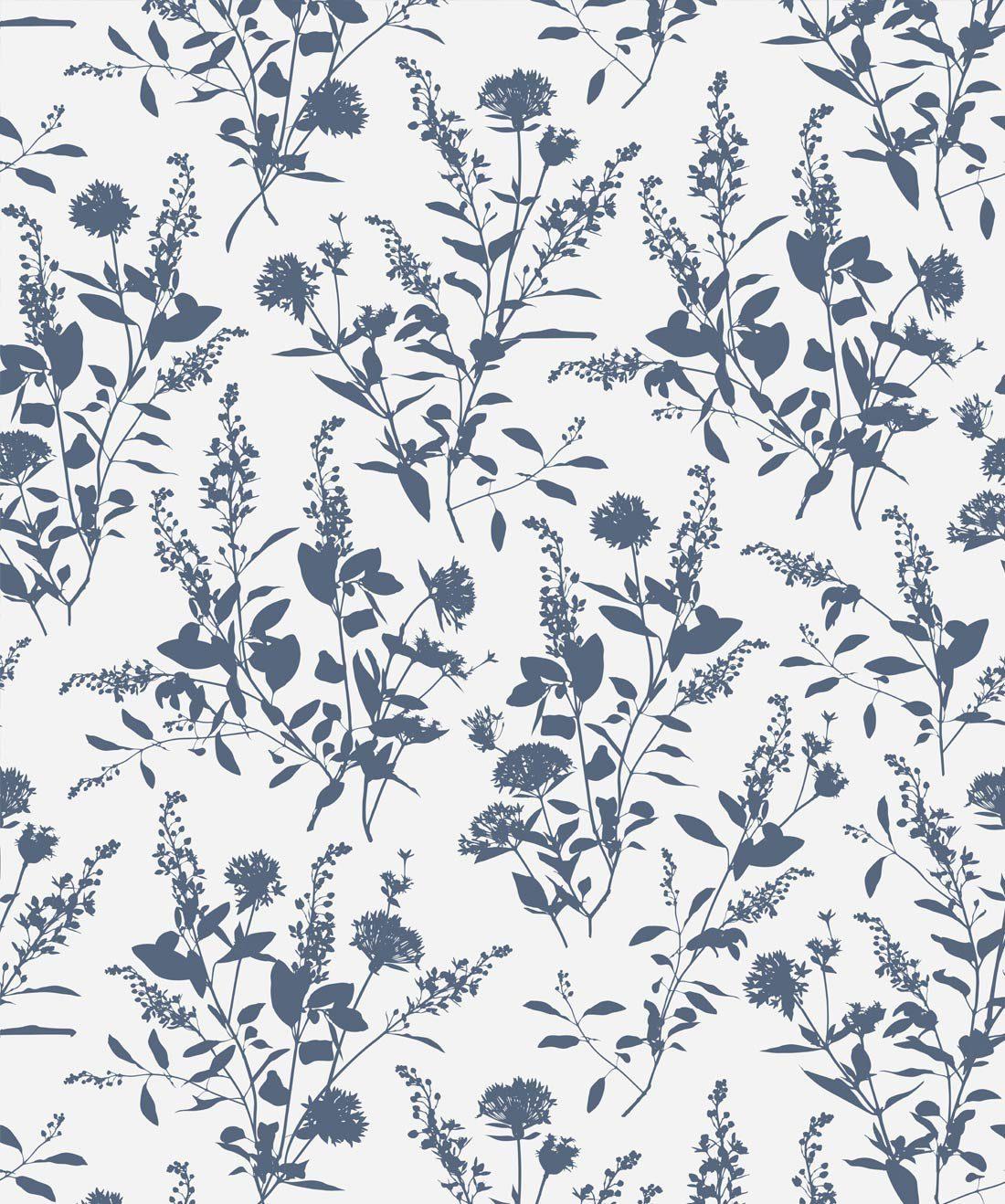 Wildflowers An Exotic Bouquet Designer Wallpaper Milton King
