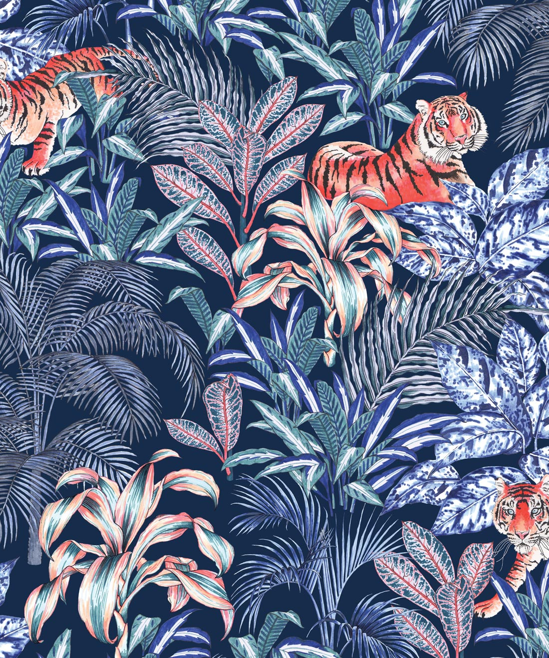 Jungle Tiger Wallpaper