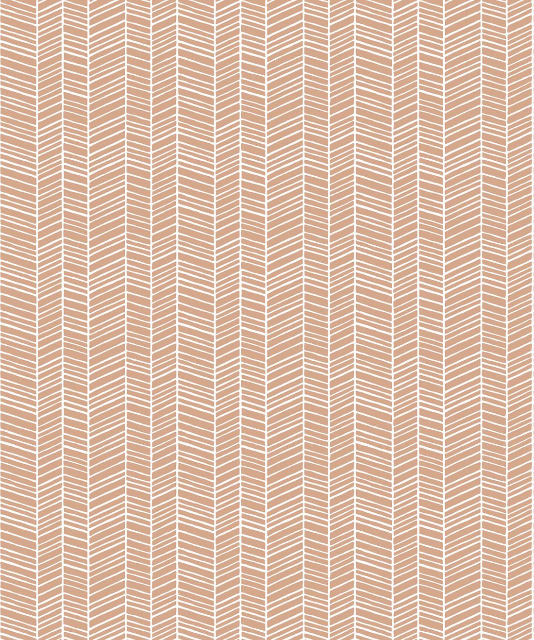 Herringbone Desert Wallpaper