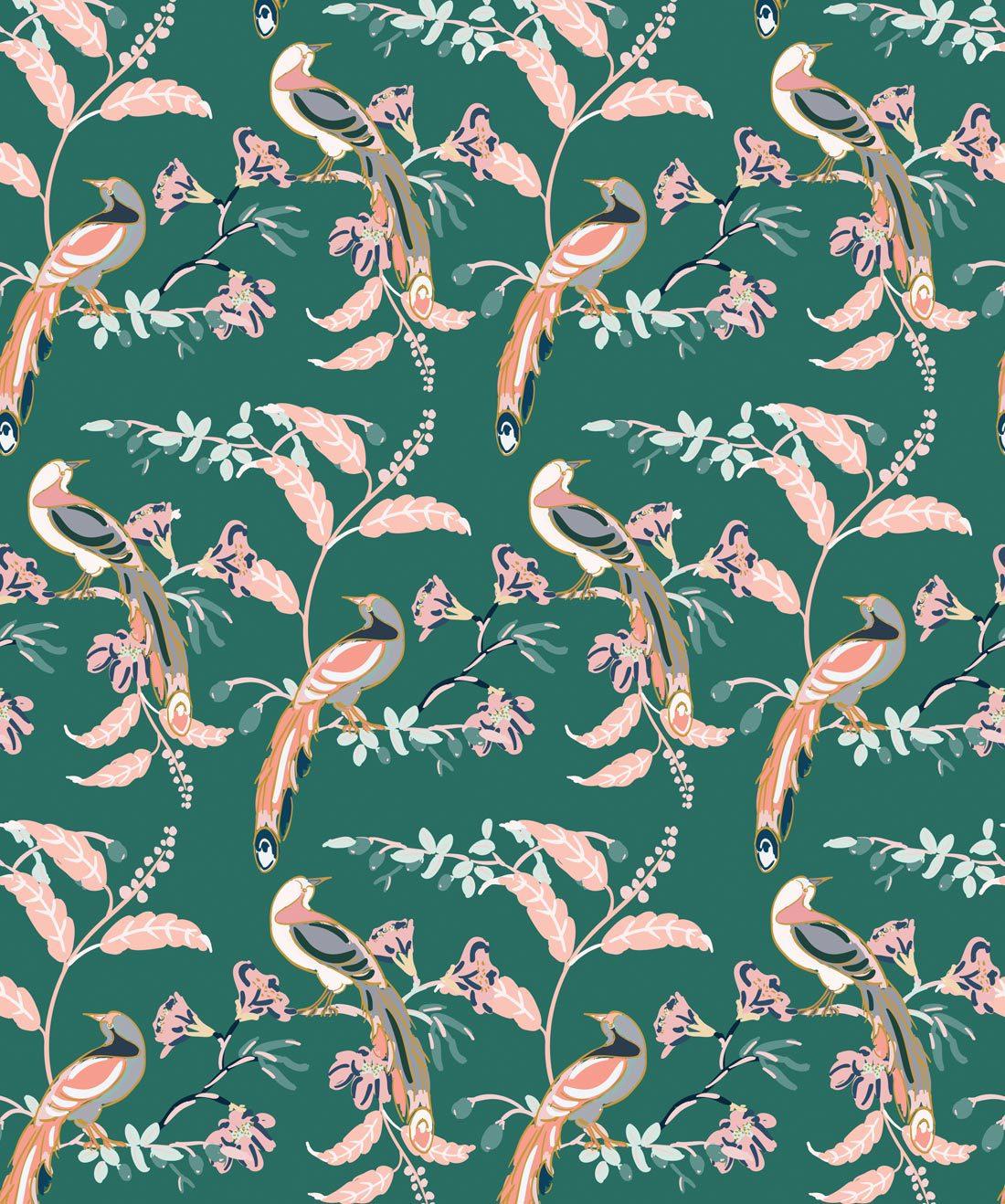 Birds Of Paradise Tropical Bird Wallpaper Milton King