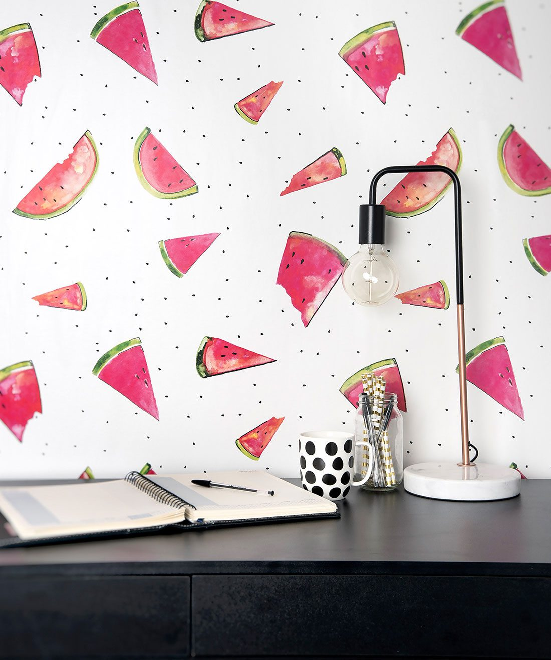 A Slice Watermelon Wallpaper