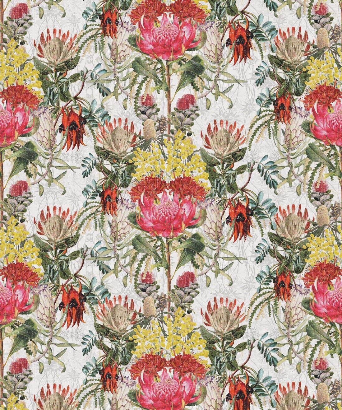Wild Flowers Beautiful Designer Floral Milton King