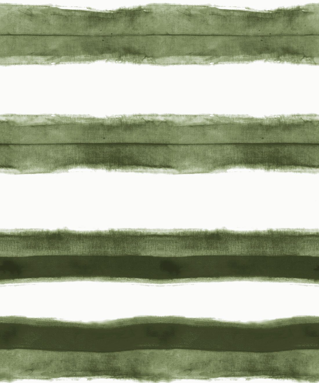 Shibori Stripe Olive Wallpaper