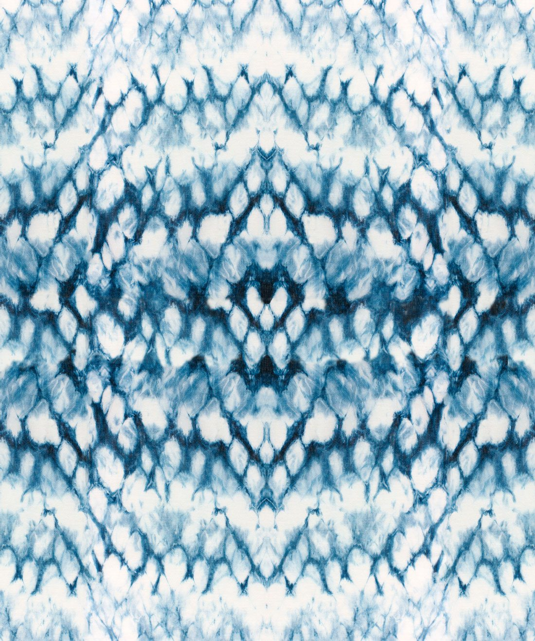 Entomology Indigo Wallpaper