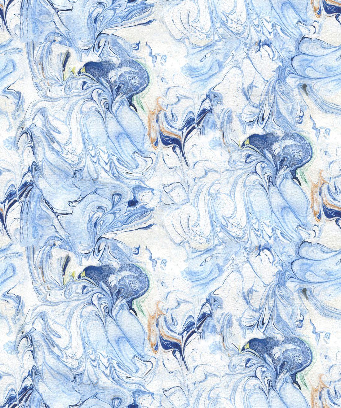Shibori Birds