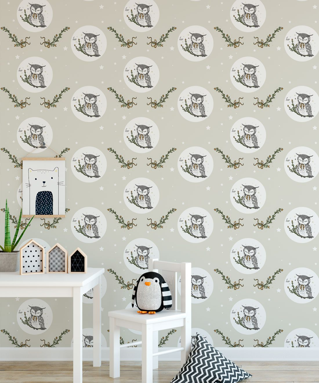 Owl Moon • Bird Wallpaper