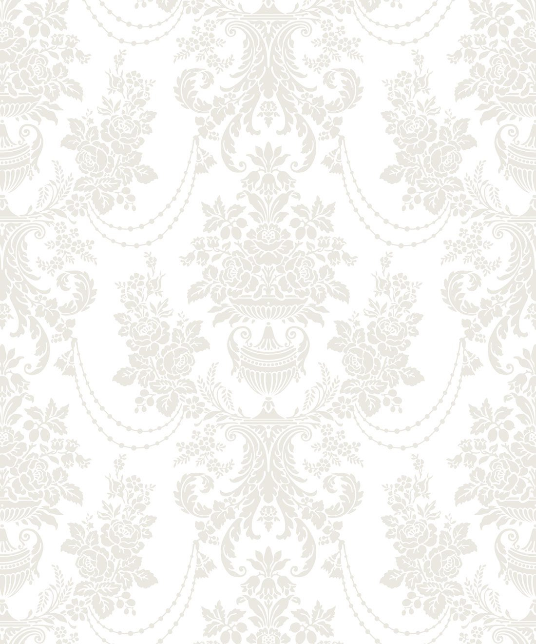 Imperial Wallpaper Whisper White