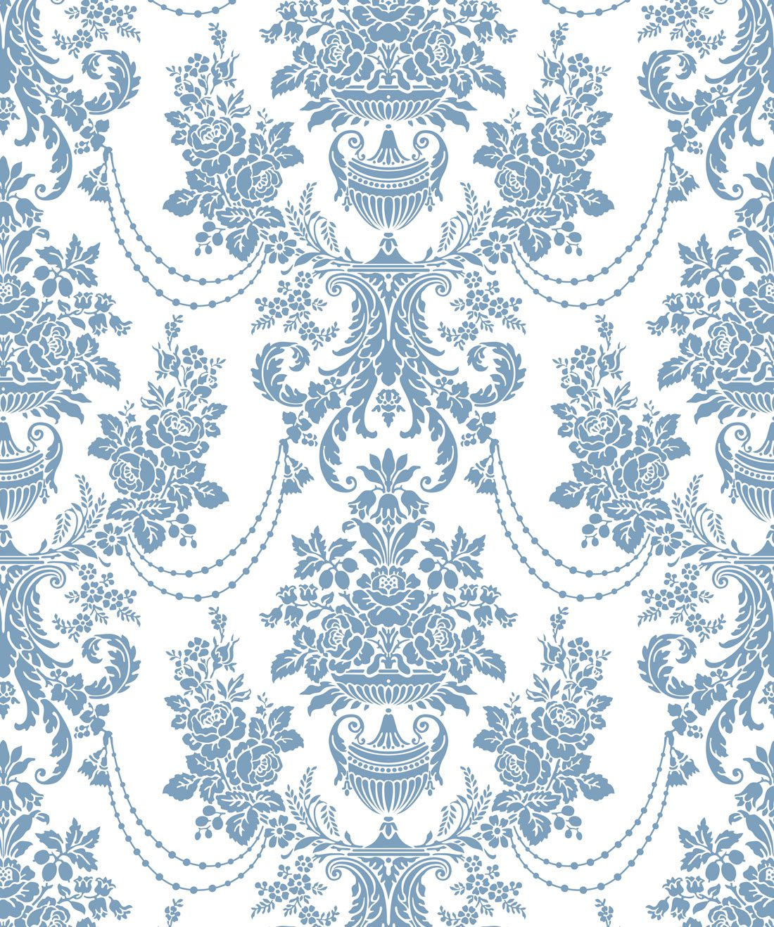 Imperial Wallpaper Dusk Blue