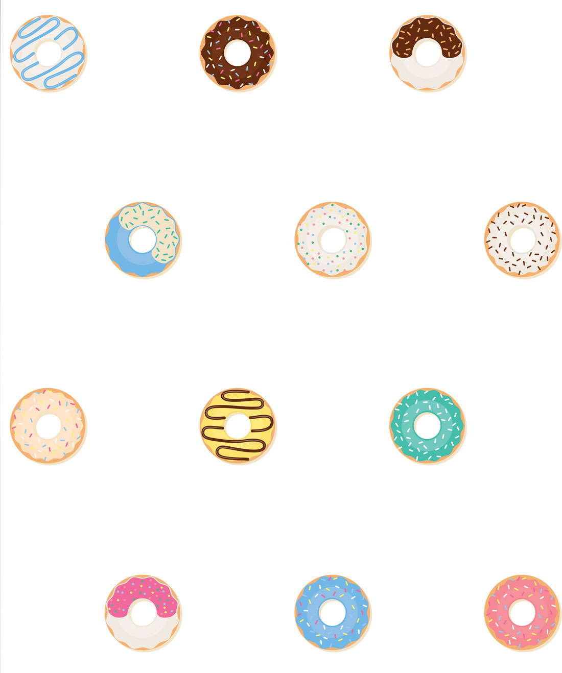 Doughnuts Wallpaper