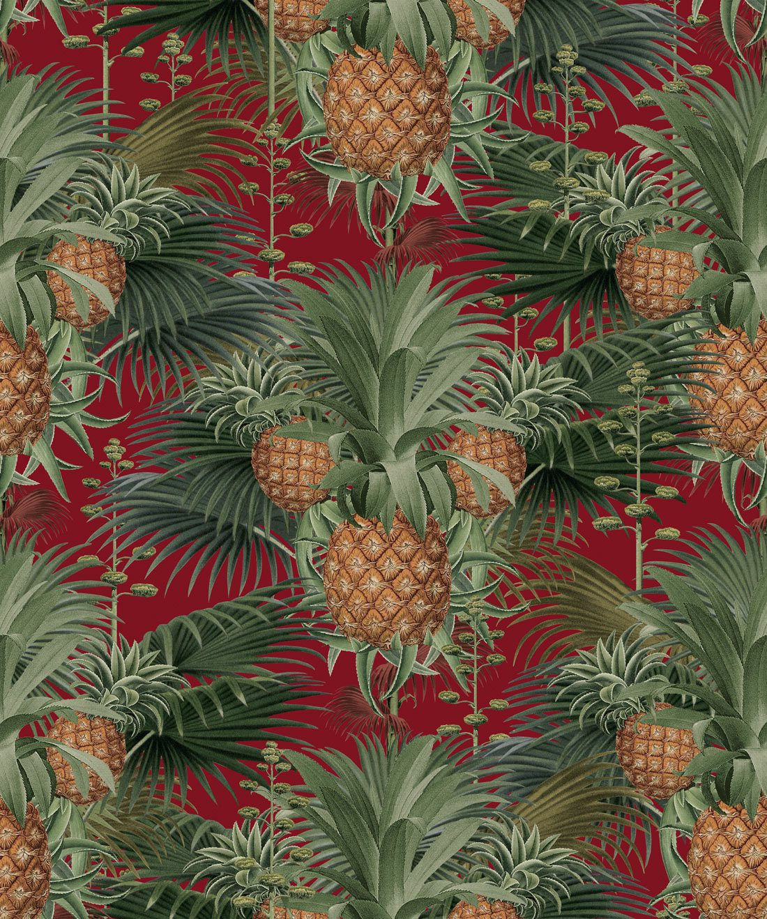 Pineapple Harvest Red