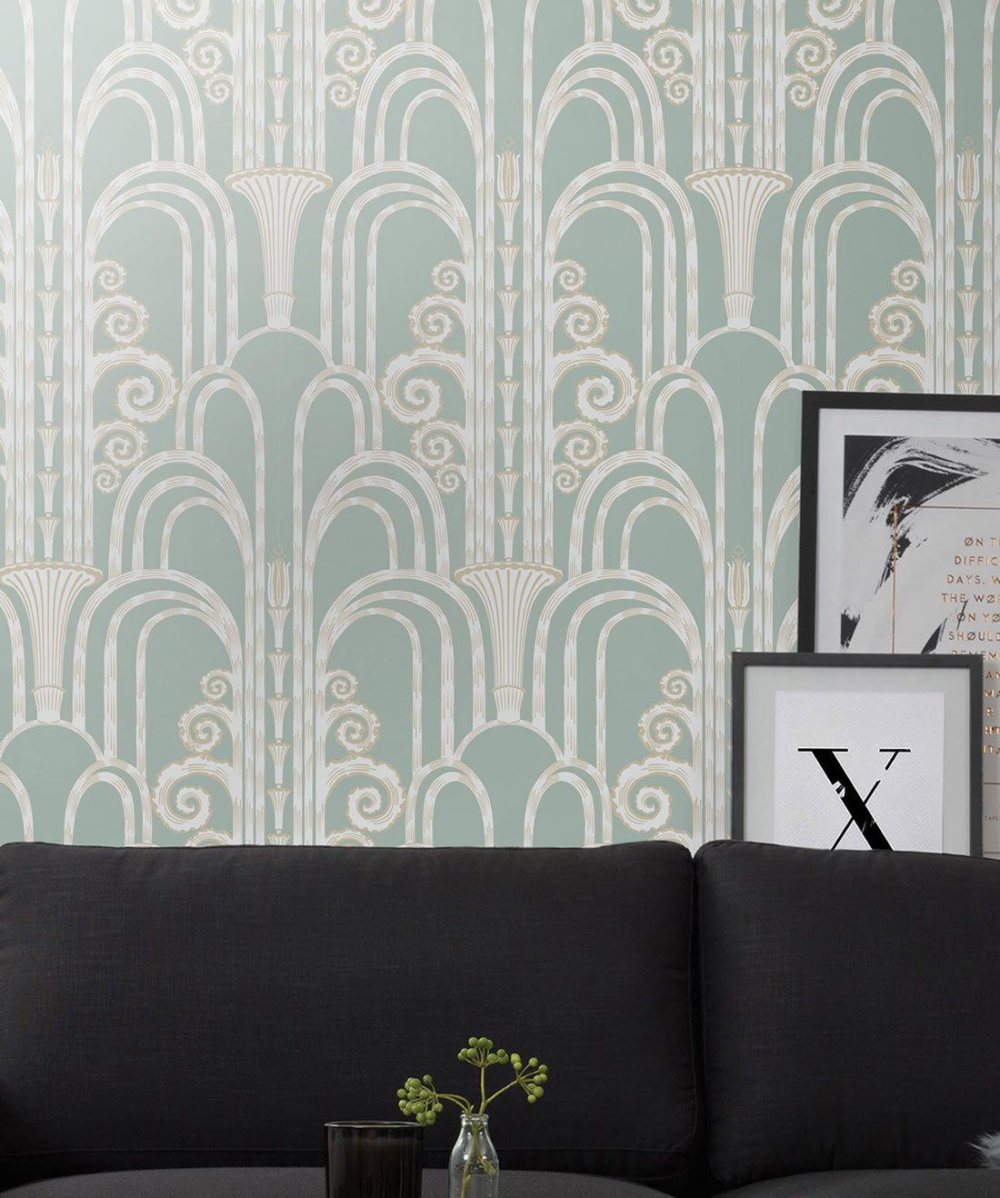 Fontaine • Art Deco Wallpaper