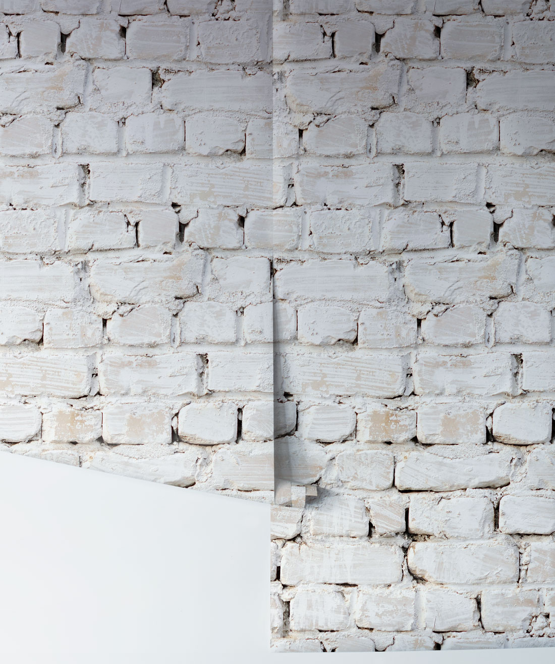 Whitewash Brick Wall: Whitewash Bricks Wallpaper, White Rustic Brick Wallpaper
