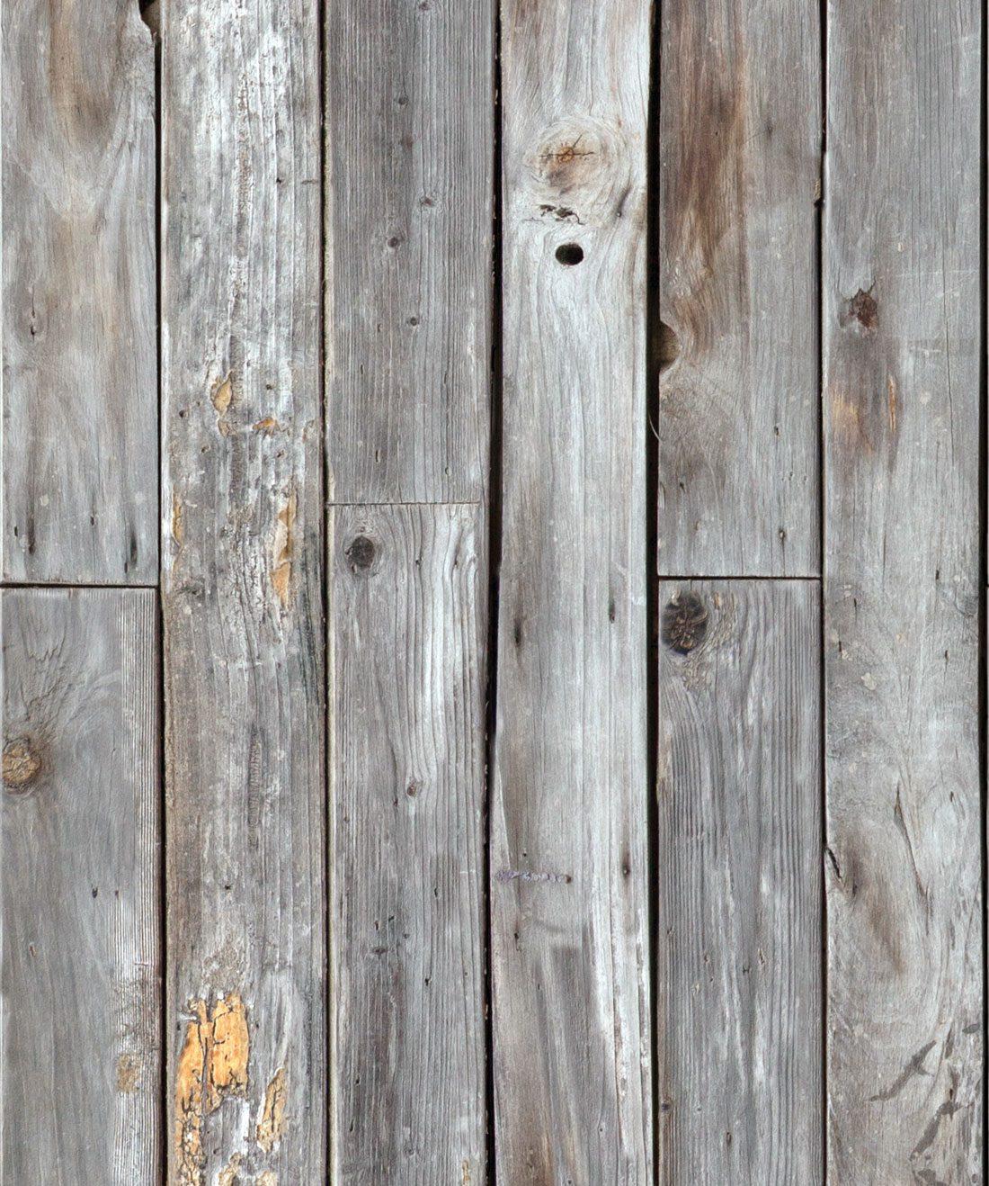 Rustic Wood Panels Wallpaper Gray Wood Effect Milton King