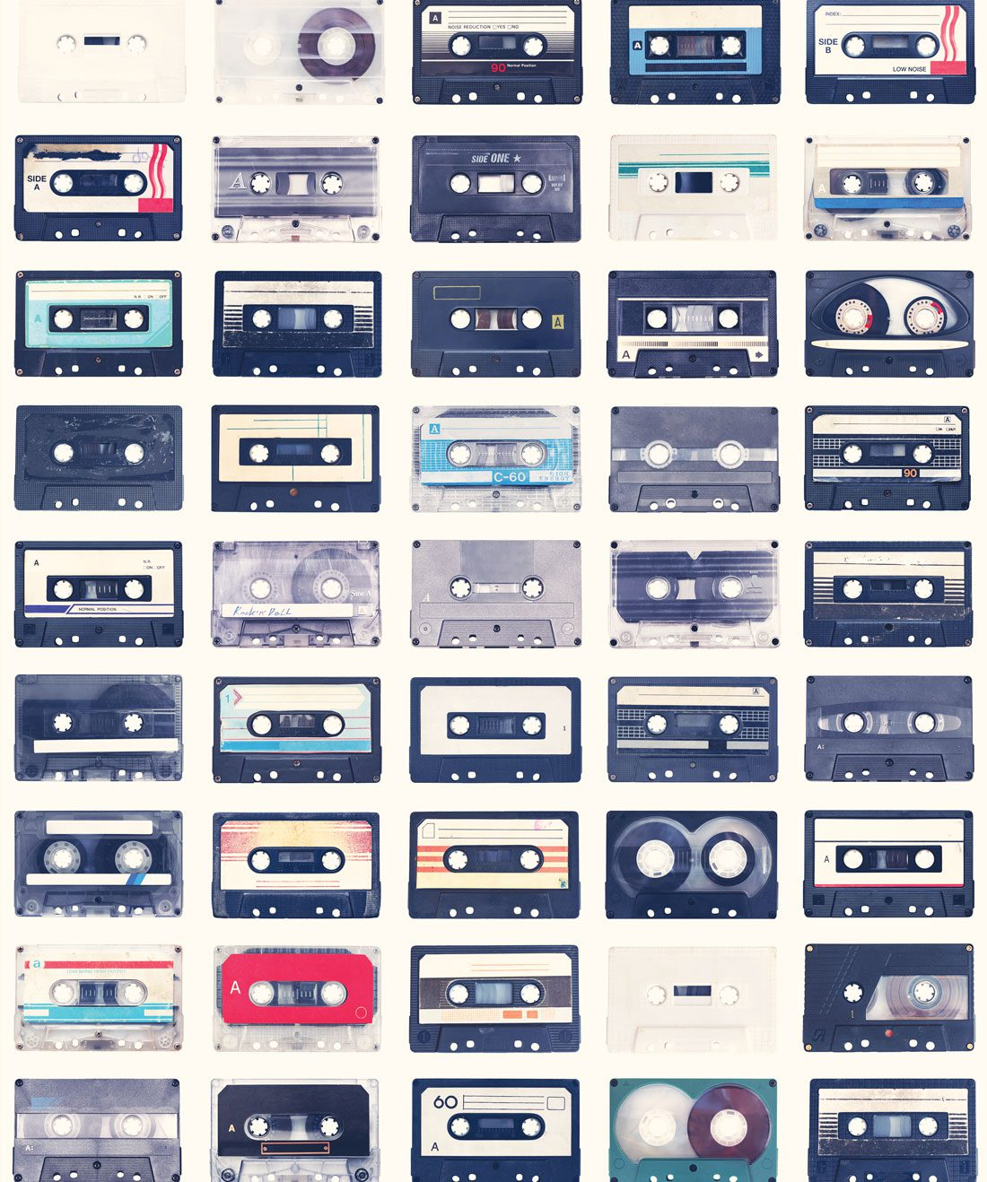 Mixed Tapes Wallpaper