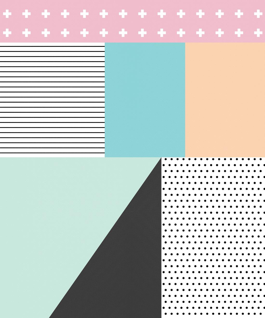 Sentiments Wallpaper Inspirded By Memphis Design Milton King