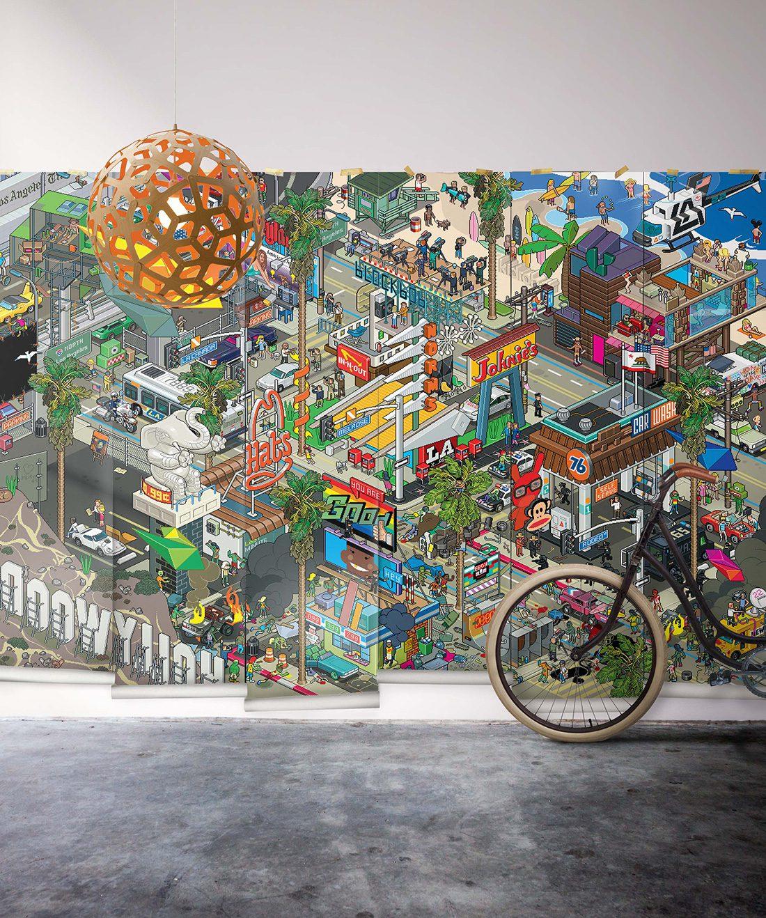 LA Wall Mural