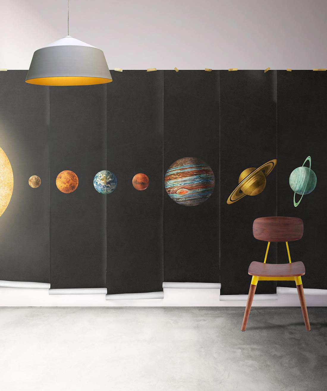 solar system • Space Wallpaper • Planet Wallpaper • Milton & King USA