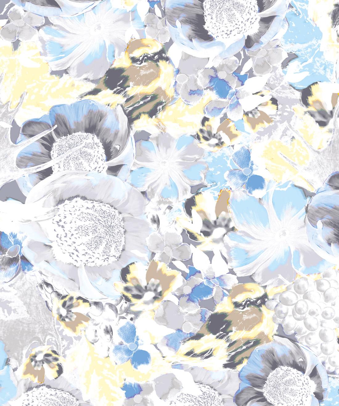 Felicity A Bold Floral Wallpaper Milton King