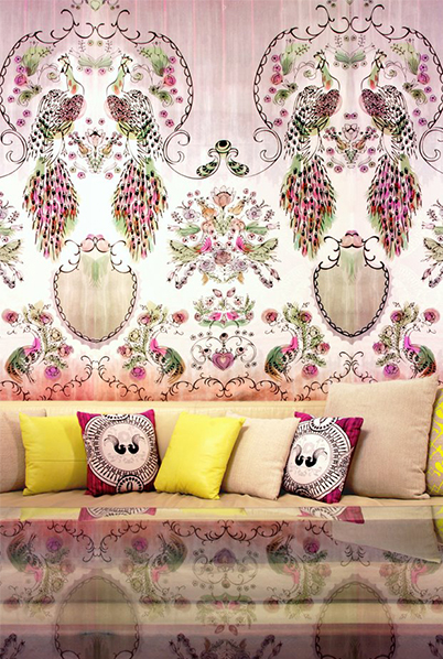 Sixhands Parlour Paradiso & Briar Rose designs
