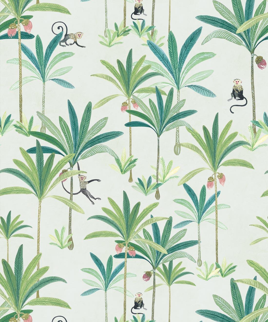 Monkey Palms Wallpaper