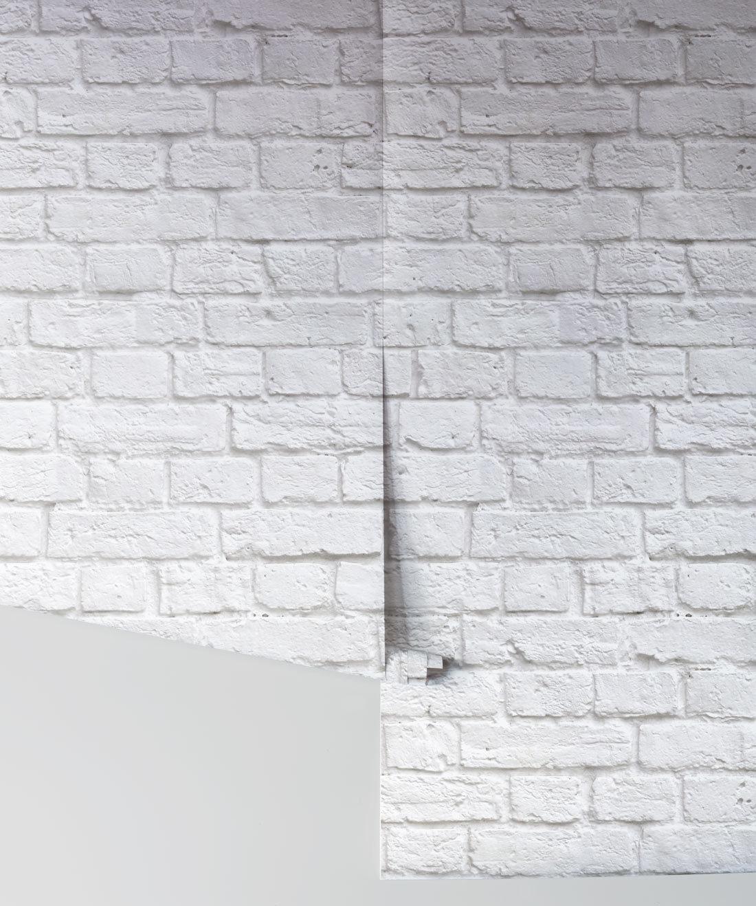 Soft White Bricks Wallpaper Realistic Accurate Bricks Milton King Aus