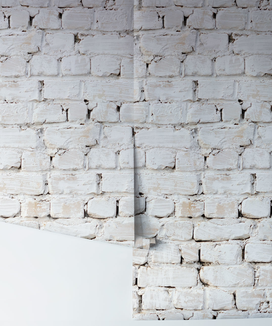 Whitewash Bricks Wallpaper White Rustic Brick Wallpaper Milton King Aus