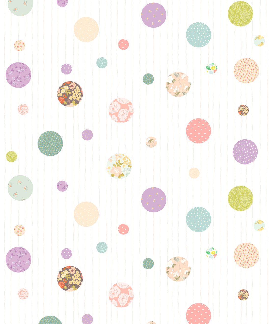 Polkadot Dreams Wallpaper
