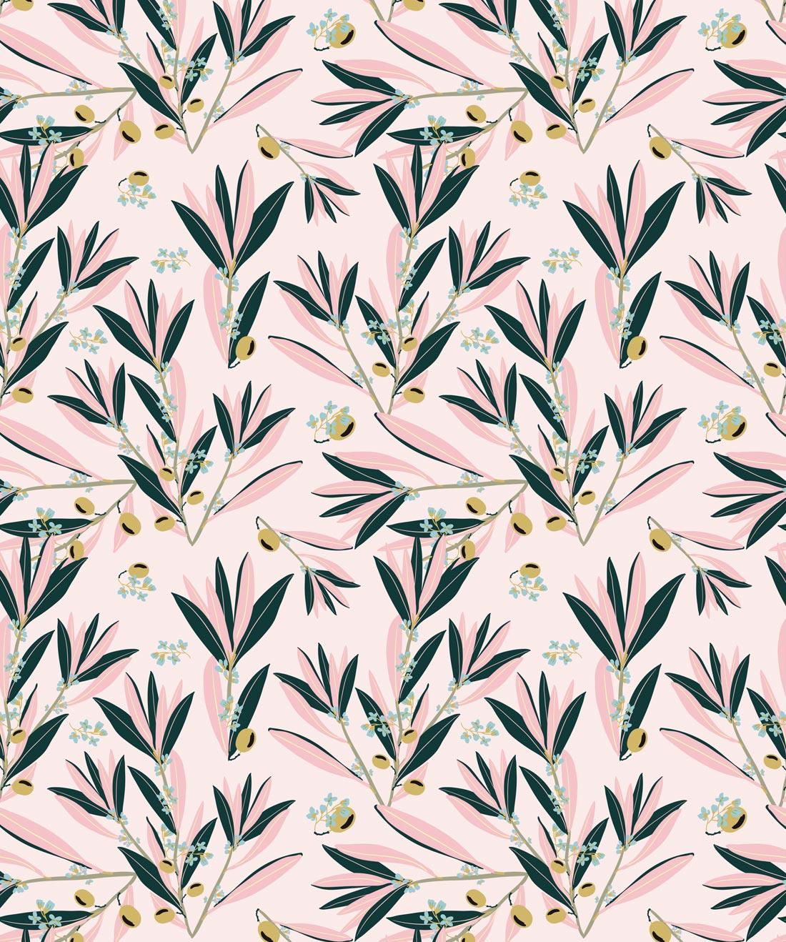 Olive Dapple Wallpaper