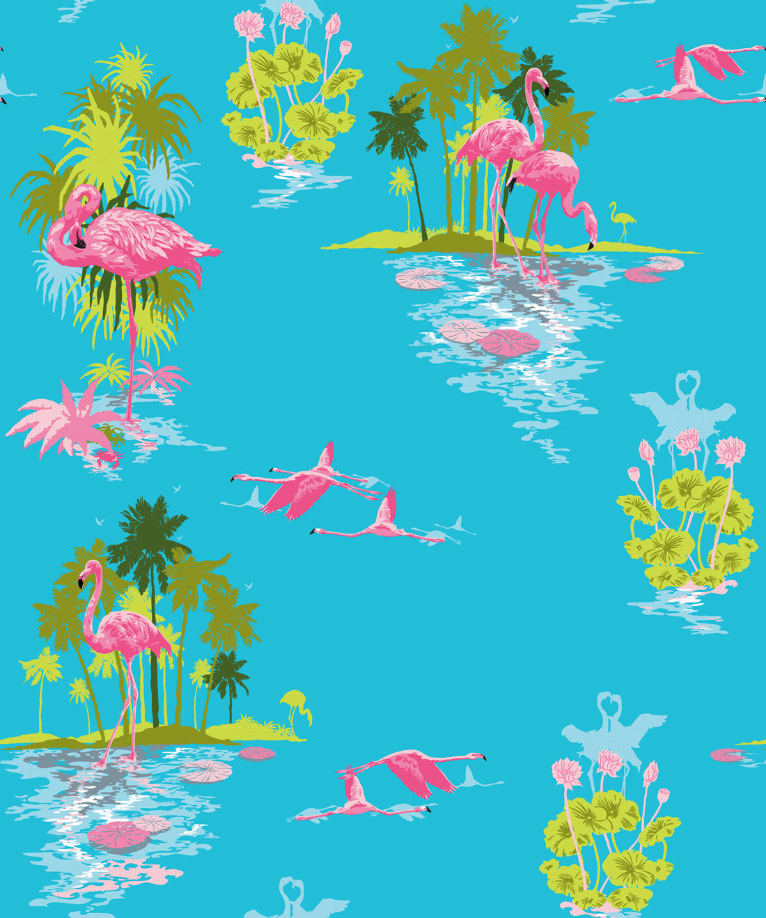 Flamingo Wallpaper Day