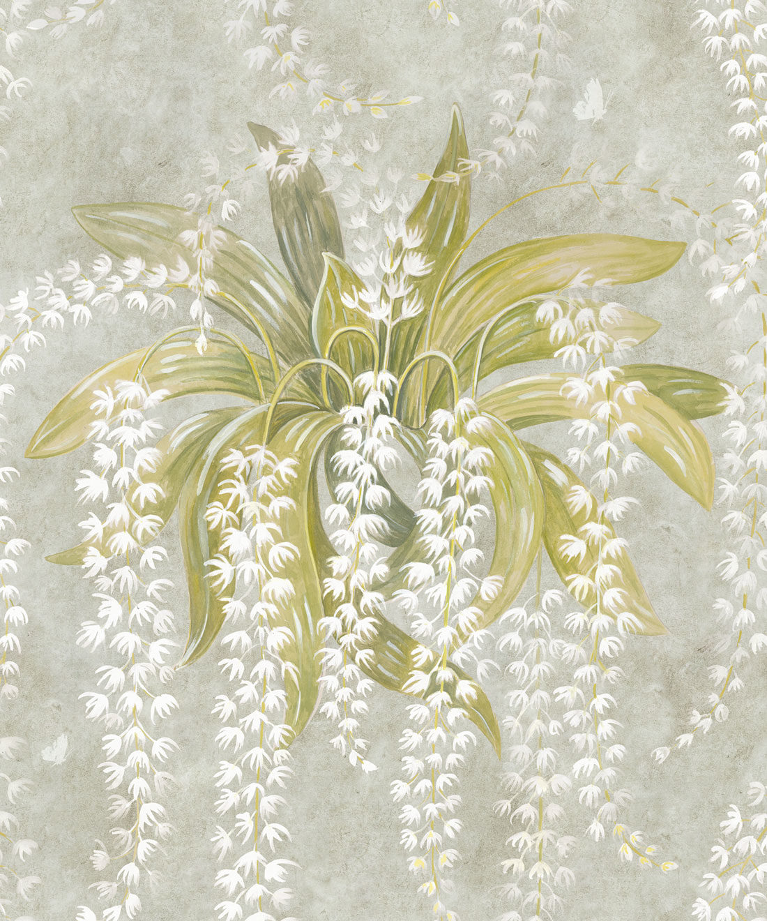 Orchid Beige Wallpaper